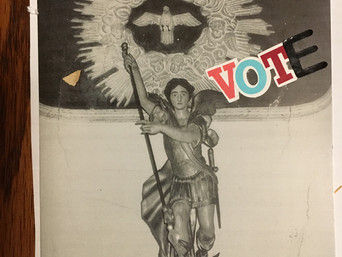 Mystery Author Autumn Doerr invokes Joan of Arc to Get Out the Vote