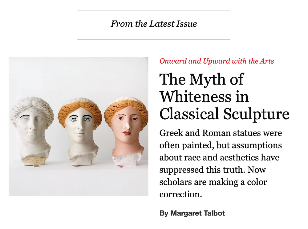 The New Yorker Greek and Roman Sculpture
