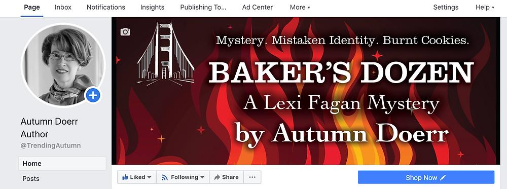 Facebook Baker's Dozen Marketing Your Book