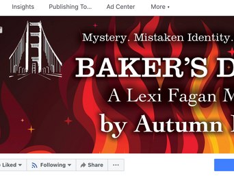 Mystery Author Autumn Doerr on Promoting Your Book, Part 2 Facebook