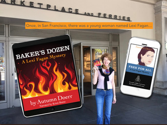 MANY WAYS TO ENJOY THE LEXI FAGAN MYSTERY SERIES BY AUTHOR AUTUMN DOERR