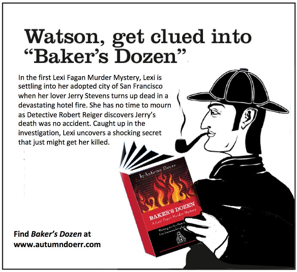Sherlock Holmes, Baker's Dozen, Mystery Book