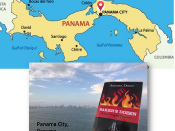 Lexi in Panama! Mystery Author Autumn Doerr First Book Travels the World
