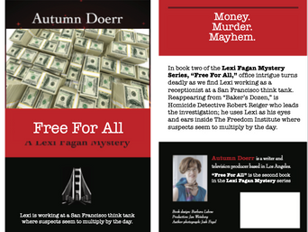 Mystery Author Autumn Doerr on Promoting Your Book, Part 12 Write Your Next Book