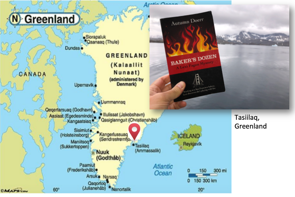 Greenland, Marketing your book, book promotion, Baker's Dozen