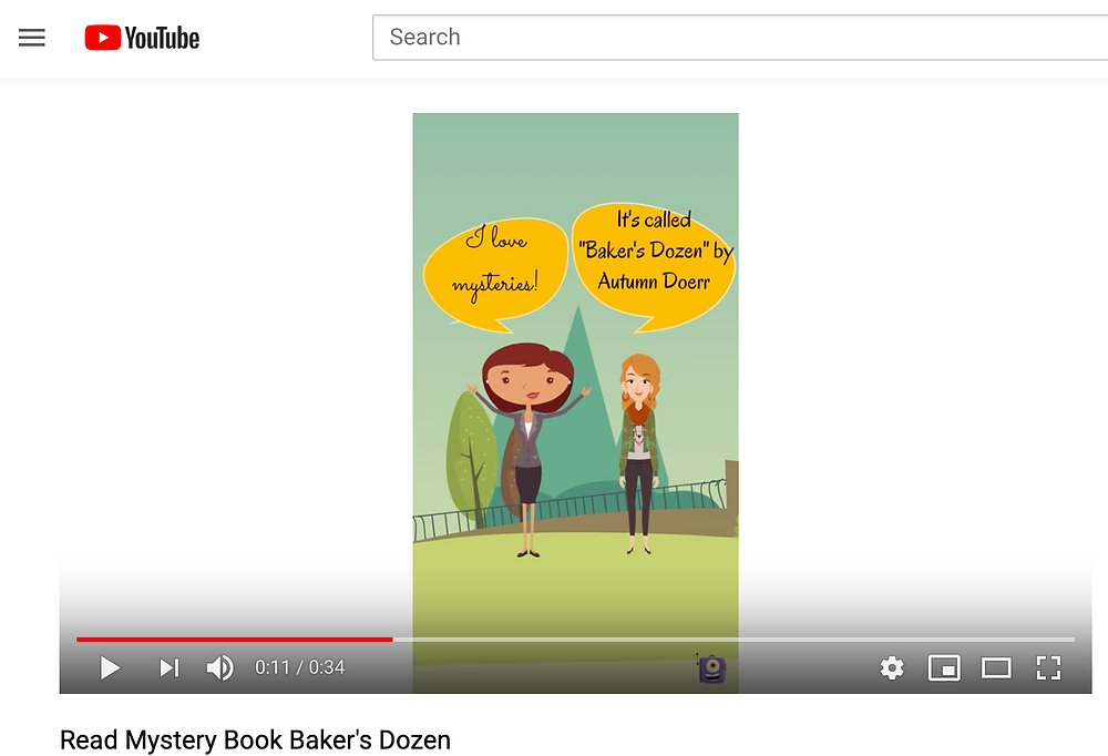 Market your book on Youtube