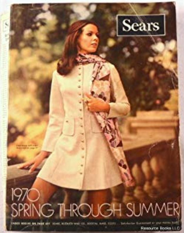 Sears/Roebuck catalog from 1970