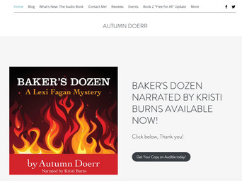 Mystery Author Autumn Doerr Advice on How to Promote Your Book, Part 1 Website