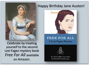 Jane Austen was born on December 16, 1775