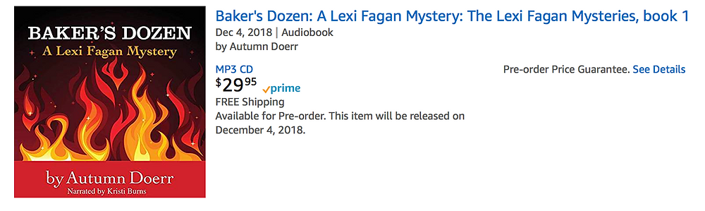Audible Amazon Baker's Dozen audiobook