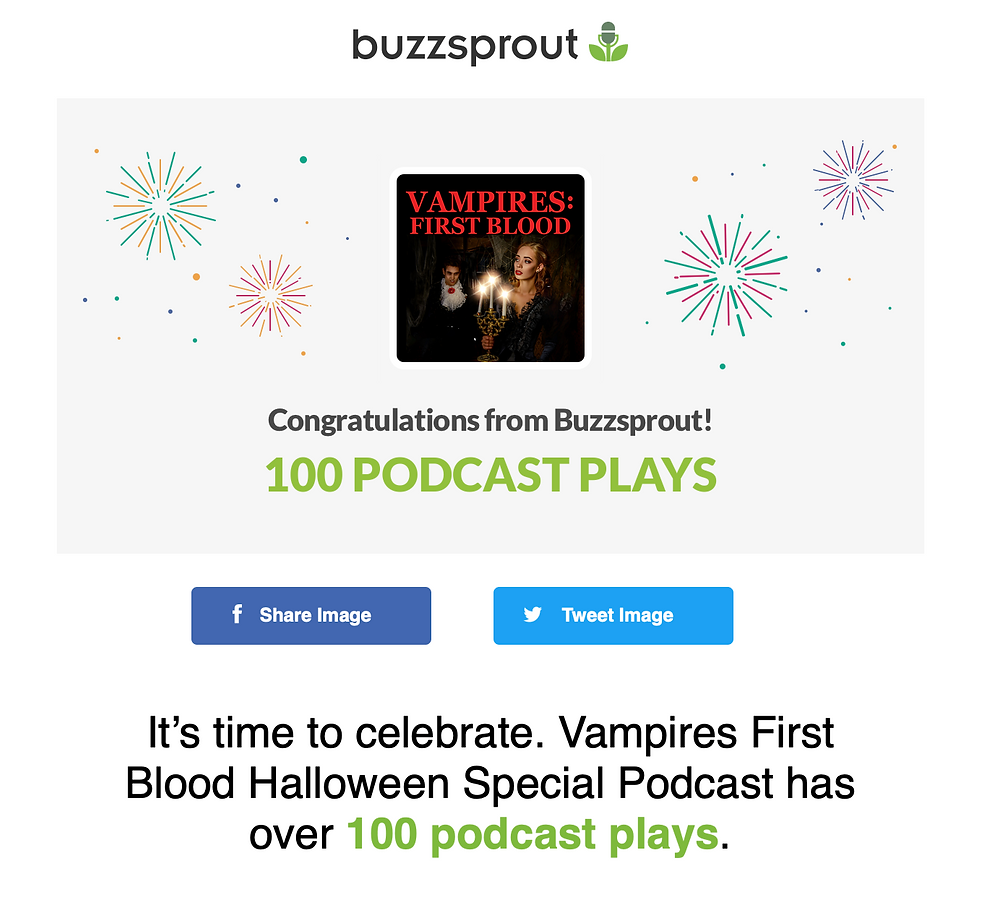 Vampires First Blood Special Podcast
