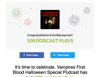 Vampires First Blood Special Podcast Hits 100!