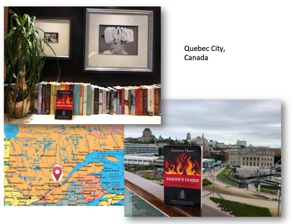 Baker's Dozen in Quebec City, Marketing Your book