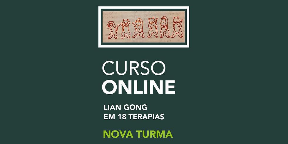 Curso Online | Aos Sábados | Lian Gong em 18 Terapias