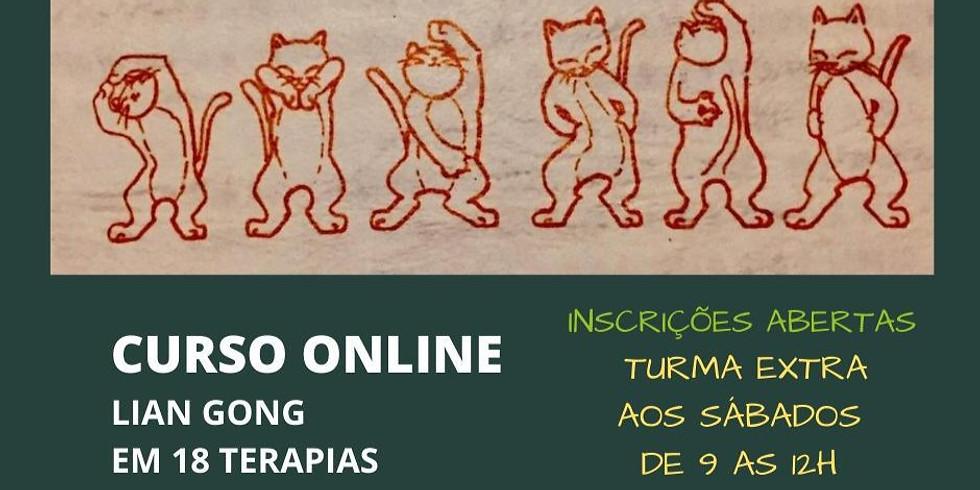 Curso Online | Lian Gong em 18 Terapias | Aos Sábados