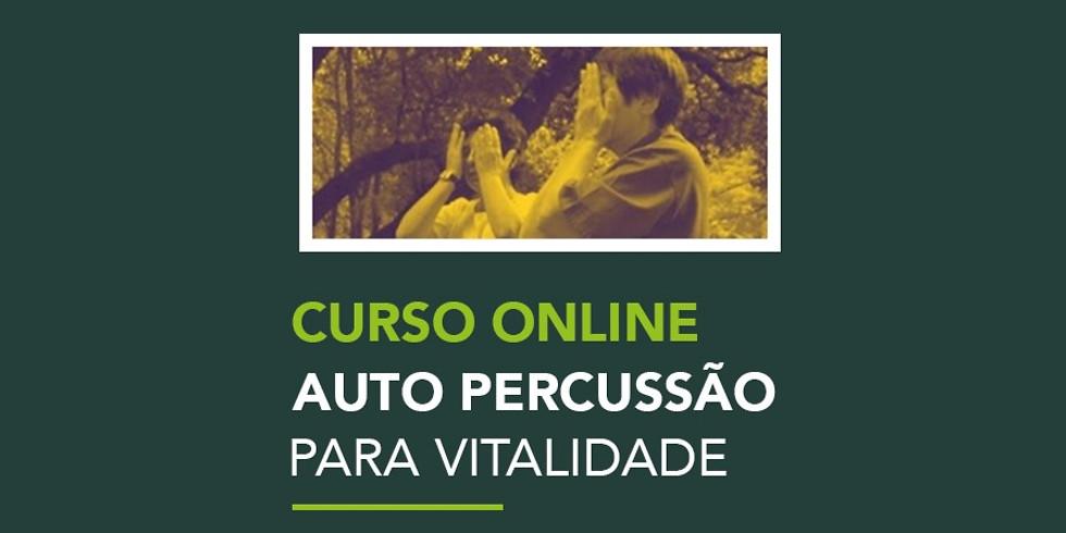Curso Online | Auto percussão para vitalidade