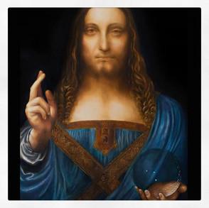 Salvator Mundi, Leonard De Vinci