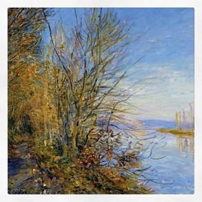e Chemin de By à Roches-Courtaut, Sisley