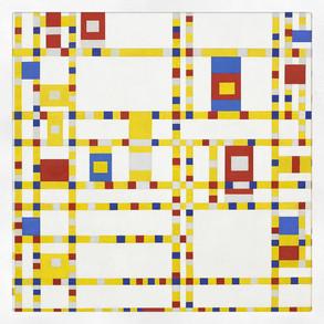 Broadway Boogie-Woogie, Mondrian