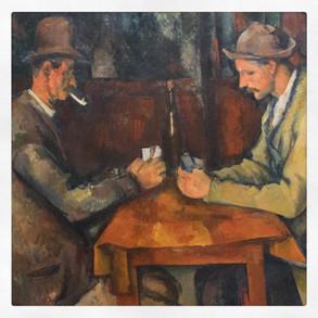 Les joueurs de cartes, Paul Cézanne