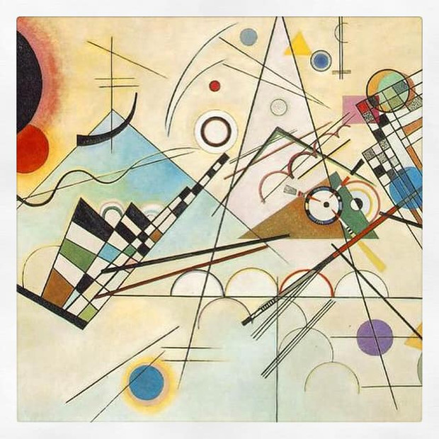 Composition VIII, Kandinsky