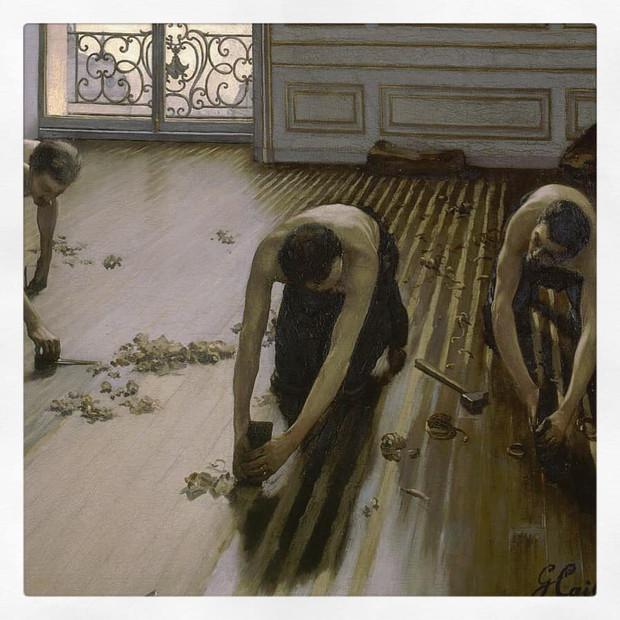 Les Raboteurs de parquet, Caillebotte
