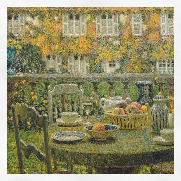 La Table d'automne à Gerberoy, Le Sidaner