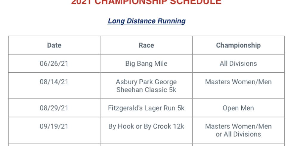 2021 USATF Championship Schedule