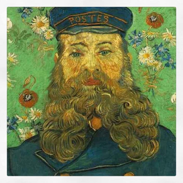 Portrait de Joseph Roulin, Van Gogh