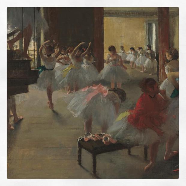 La classe de danse, Edgar Degas