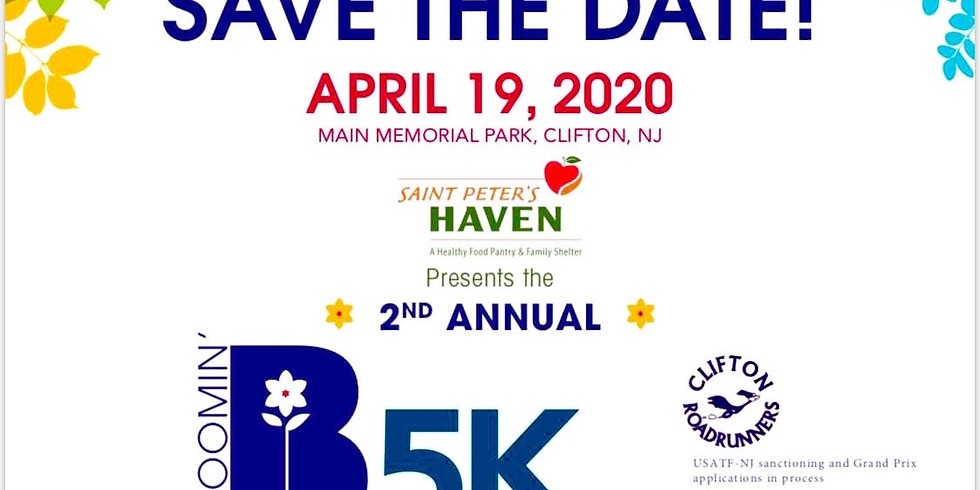 Bloomin' 5k; a CRRC-sponsored event!
