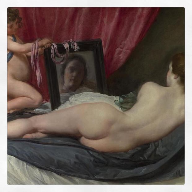 Vénus à son miroir, Vélasquez
