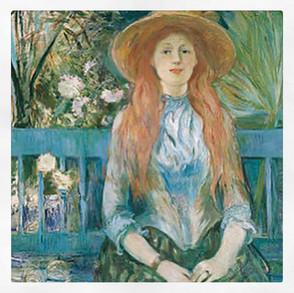 Jeune fille sur un banc, Berthe Morisot
