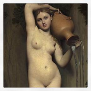 La source, Ingres