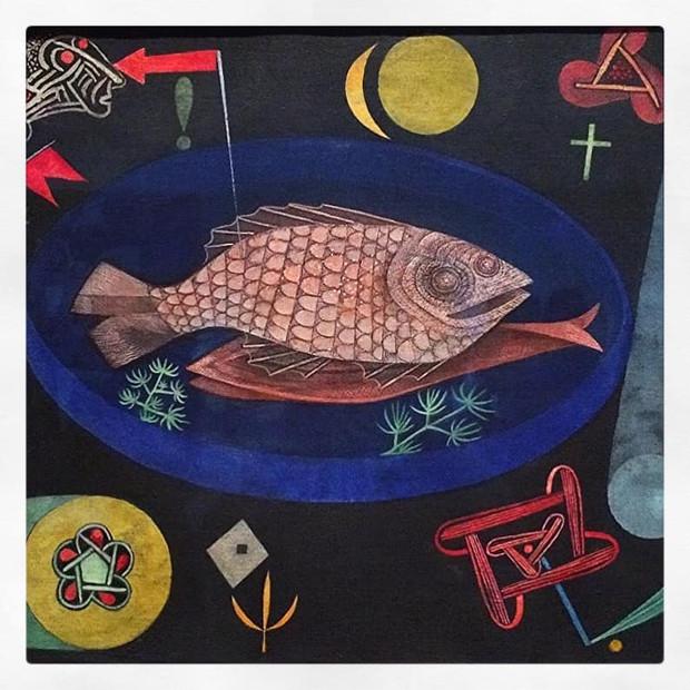Autour du poisson, Paul Klee