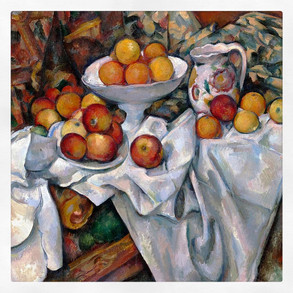 Nature morte aux pommes et aux oranges, Cézanne
