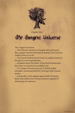 The Tahngent Universe