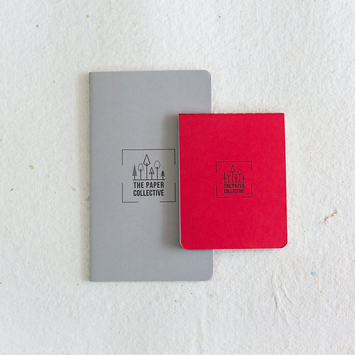 Palm Books - Grey & Red (Pack of 2)