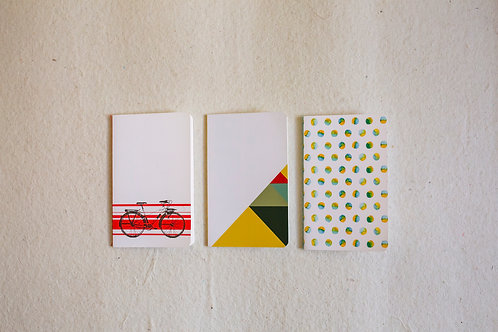 Pocket Notebook (Pack of 3)