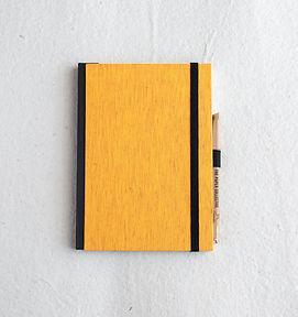 A5 Marigold HB Bookcloth_Dot&Unruled-2.j