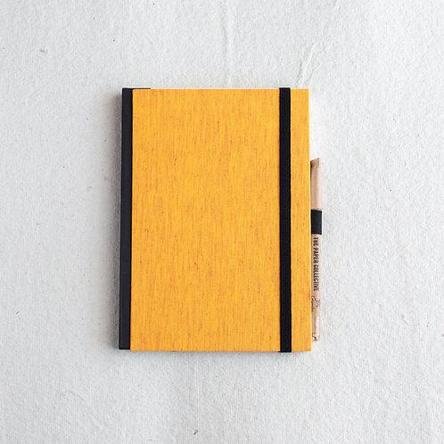Cotton Bookcloth Journal - Marigold