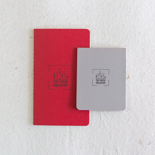 Palm Books - Red & Grey (Pack of 2)