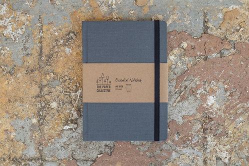Dark Grey Bookcloth Journal