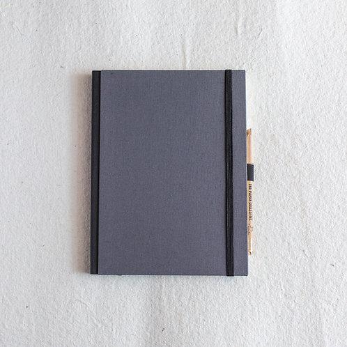 Cotton Bookcloth Journal - River Birch
