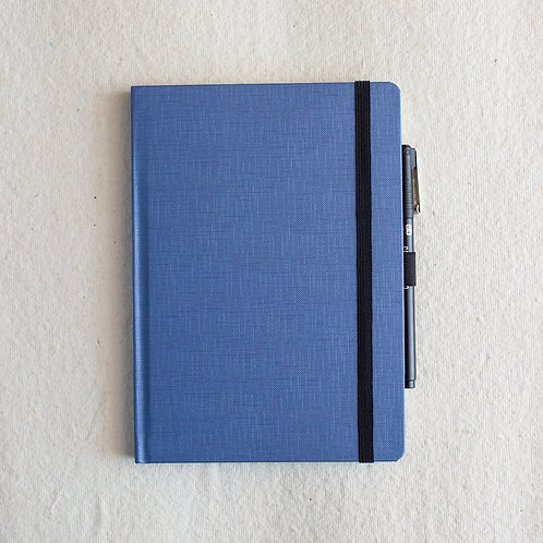 Metallic Blue PVC