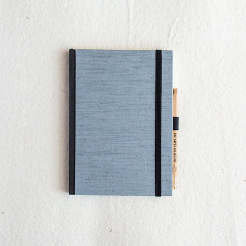 Cotton Bookcloth Journal - Love in a Mist