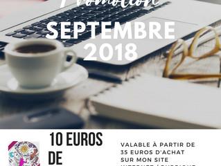 Votre Promo de Septembre 2018