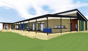 Oranga School New Classroom Exterior Ren