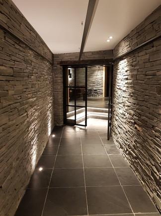 Underground doors