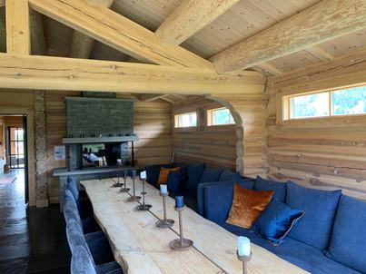 Enjoy the impressive wood constructions